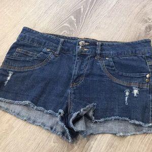 Forever 21…Distressed Denim Shorts.